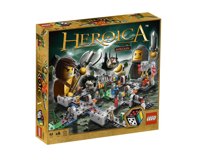 vad kostar heroica lego spel