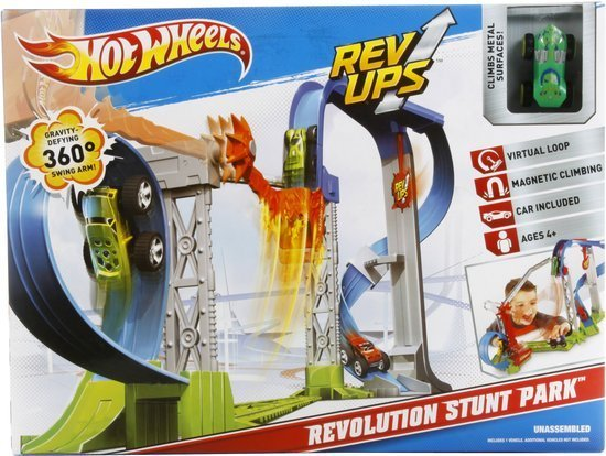 Hot Wheels Rev Ups Revolution Stunt Park