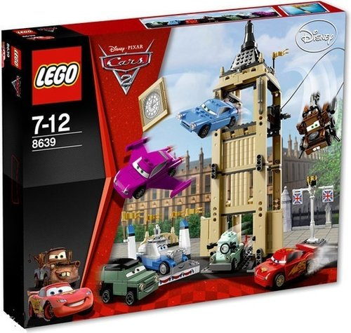 Cars 2 8639 Bentley Ontsnapping