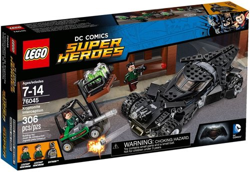 Super Heroes 76045 Kryptoniet onderschepping