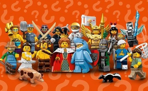 Lego serie 15 complete serie