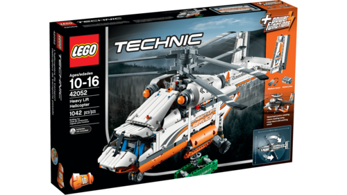 lego technic 42052 Grote vracht helicopter