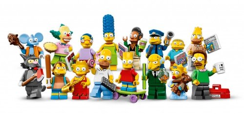 Lego serie Simpsons 1 complete serie
