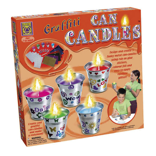 Knutselpakket Kaarsen Versieren Can Candles