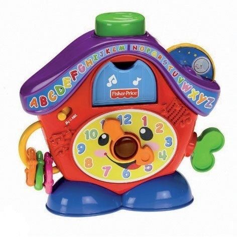 Fisher Price Lachen en Leren Klok