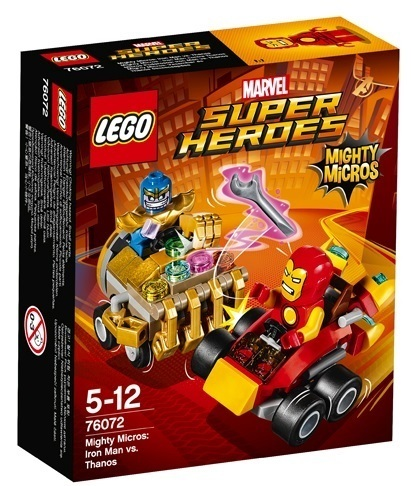 Super Heroes 76072 Mighty Micros: Iron Man vs. Thanos