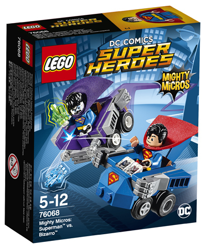 Super Heroes 76068 Mighty Micros Superman vs. Bizarro