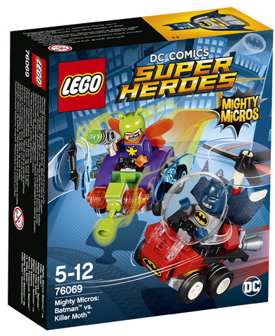 Super Heroes 76069 Mighty Micros: Batman vs. Killer Moth