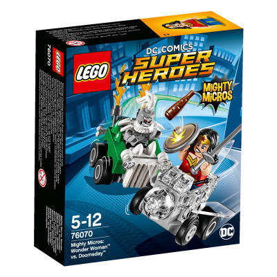Super Heroes 76070 Mighty Micros: Wonder Woman vs. Doomsday