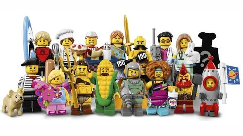 Lego serie 17 complete serie