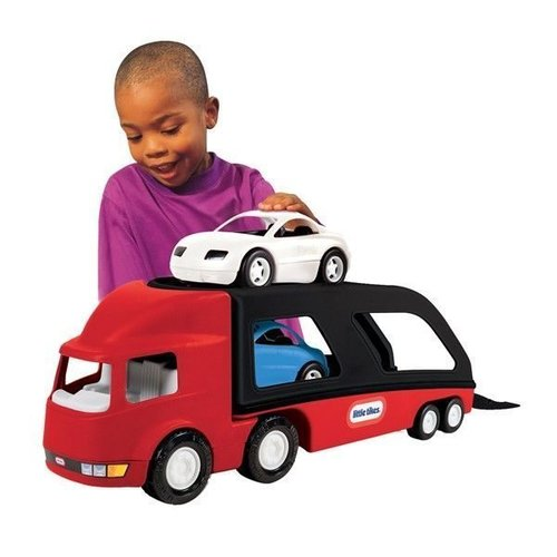 Little Tikes Autotransporter Limited edition rood/zwart