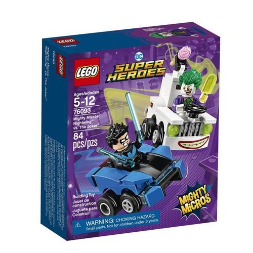 Super Heroes 76093 Mighty Micros Nightwing™ vs. The Joker™