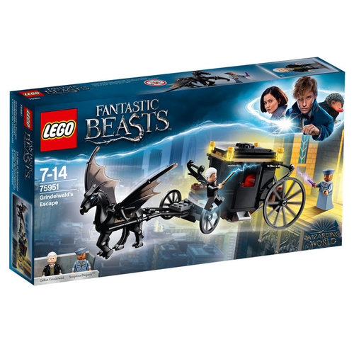 Lego Fantastic Beasts 75951 Grindelwald's ontsnapping