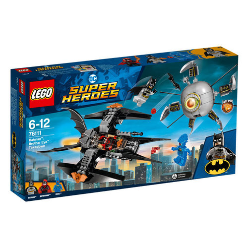 Lego Super Heroes 76111 Batman: Brother Eye verslaan