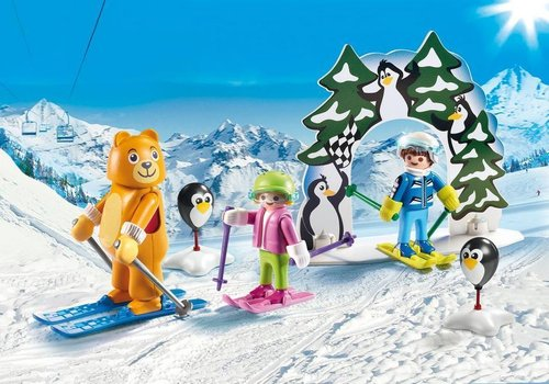 Playmobil Family fun 9282 Skischooltje