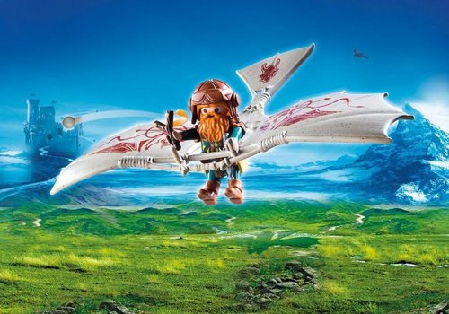 Playmobil Knights 9342 Dwergzweefvlieger