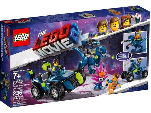 Lego Movie 2 70826 Rex's Rex-treme offroader