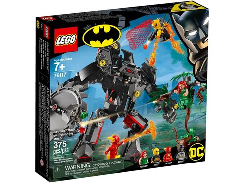 Lego Super Heroes 76117 Batman Mecha vs. Poison Ivy Mecha