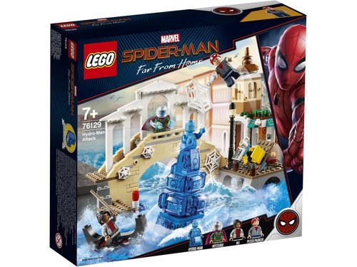 Lego Marvel supper Heroes 76129 Hydro-man aanval