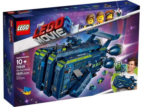 Lego Movie 2 70839 De Rexcelsior!