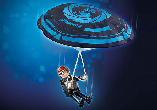 Playmobil 70070 The Movie Rex Dasher met parachute