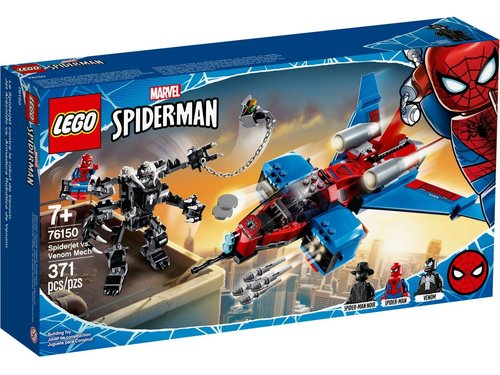 Lego Super Heroes 76150 Spiderjet vs. Venom Mecha