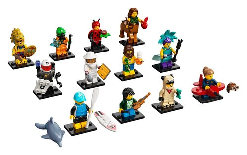 Lego serie 21 complete serie