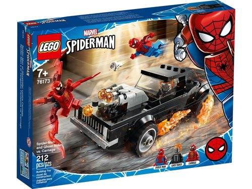 Lego Super Heroes 76173 Spider-Man en Ghostrider vs. Carnage